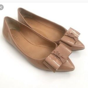 J. Crew factory nude Emory flats size 9